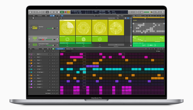 Apple Releases Logic Pro X 10.5 Includes New Live Loops Feature and More