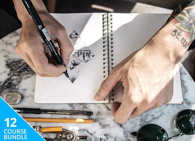 MacTrast Deals: The Fundamental Drawing Bundle for Beginners