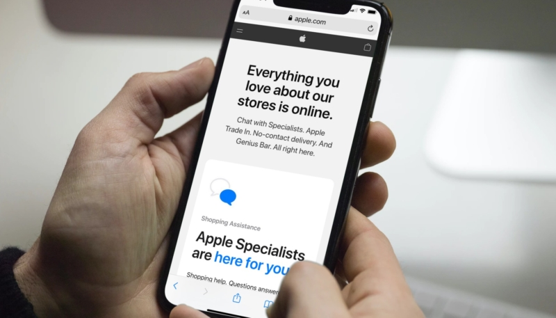 Apple Launches New Online Store Front for Buying and Getting Technical Help From Home