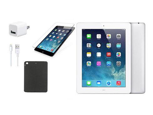 MacTrast Deals: Apple iPad 4 9.7″ 32GB – White (Certified Refurbished) Bundle
