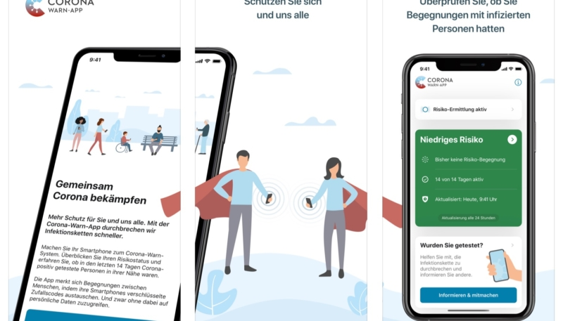 Germany Launches COVID-19 Contract Tracing App Using Apple/Google API