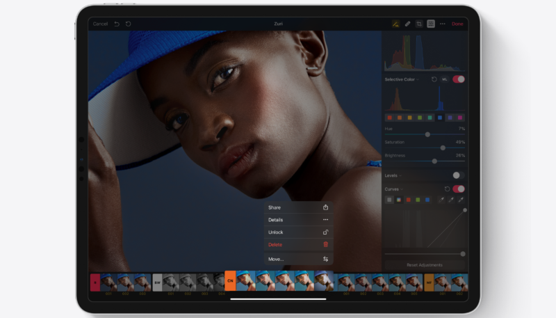 Pixelmator Photo for iPad Updated to Version 1.3 – Brings Batch Photo Editing Improvements, More