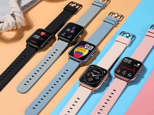 MacTrast Deals: Metallic Smart Watch with Health & Activity Tracker