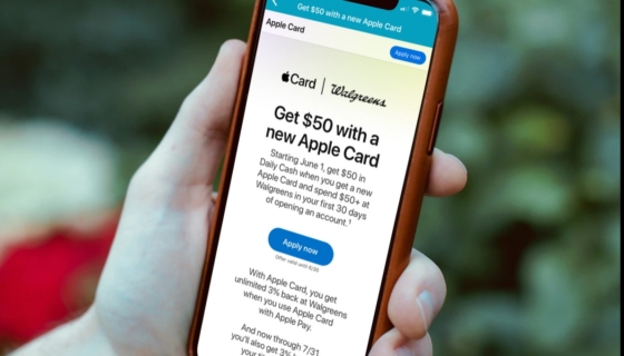 Walgreens Apple Card Offer
