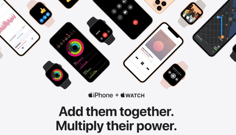 New Apple Minisite Promotes Tight Integration Between iPhone and Apple Watch