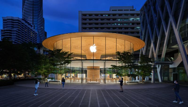 Apple Central World to Open Friday in Thailand