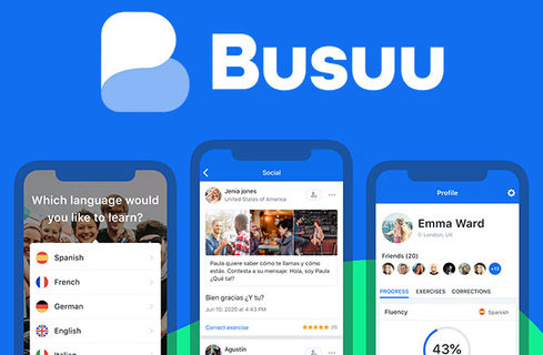 Busuu Language Learning Premium Plus