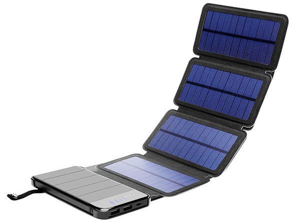 MacTrast Deals: 4-Panel Foldable Solar Phone Charger & 10,000mAh Power Bank
