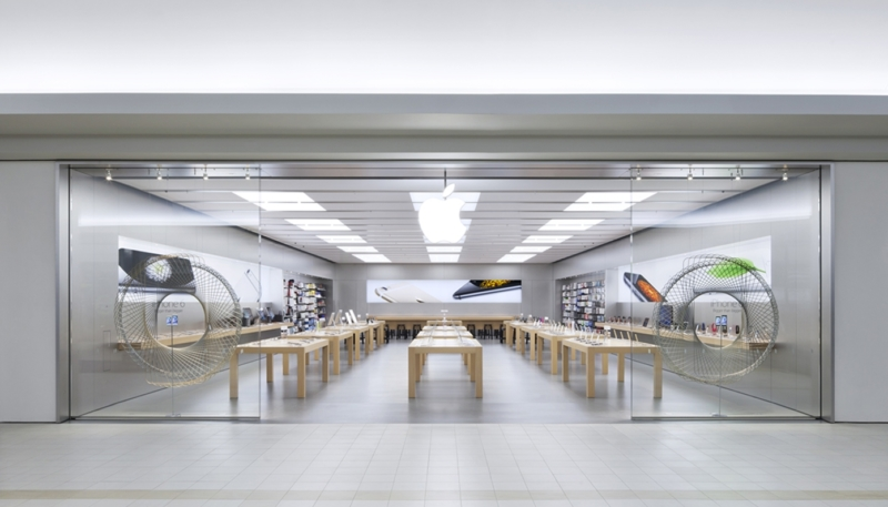 Apple Re-Shutters Eight More Retail Stores in the U.S.
