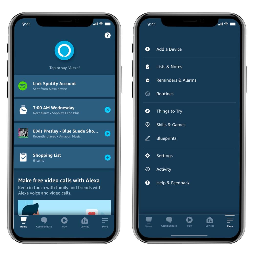 New Amazon Alexa App