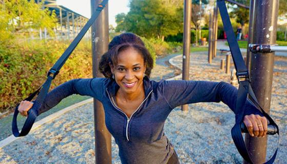 Suspension Fitness Strap Trainer