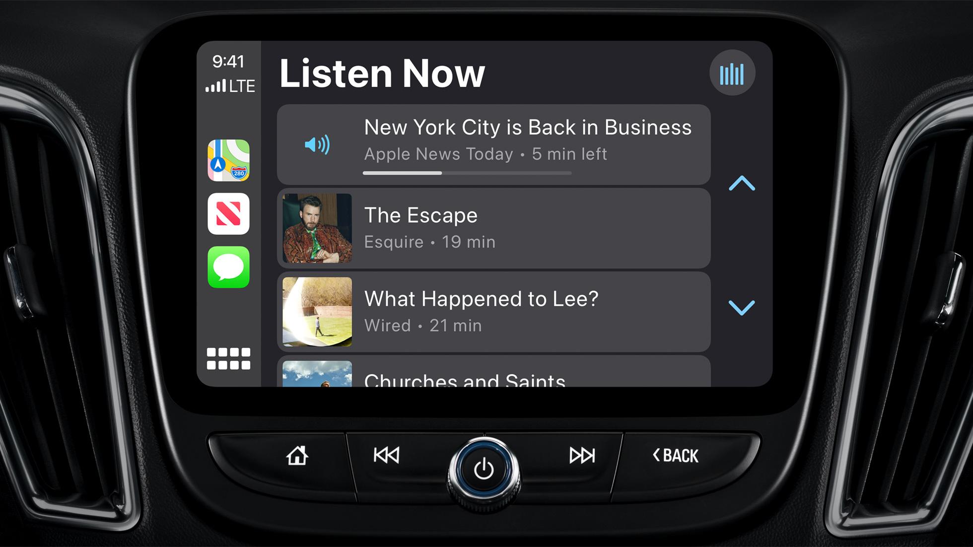 Apple News for CarPlay