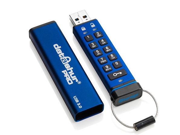 datAshur® PRO 256-bit Encrypted USB 3.0 Flash Drive