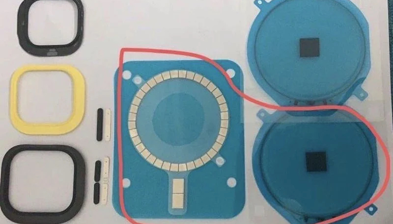New Images Allegedly Show 'iPhone 12' Chassis Containing Circular Array of Magnets