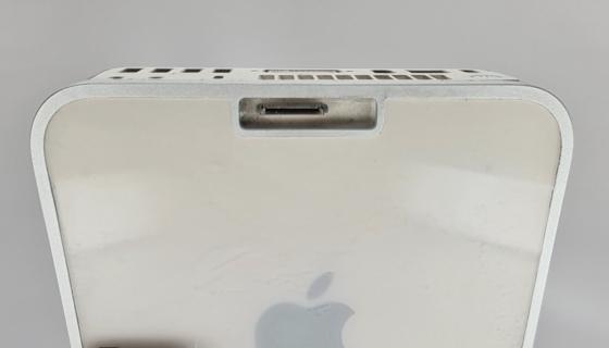 Mac mini with iPod nano dock