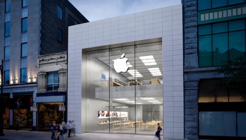 Apple's Montreal Flagship Sainte-Catherine Store Closed Due to 'Abundance of Caution' Over COVID-19