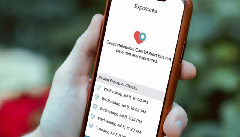 Apps Using Apple-Google Exposure Notification API Rolling Out in Three US States