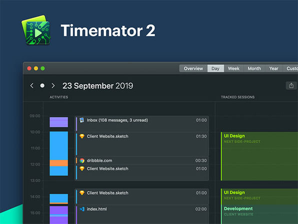 MacTrast Deals: Timemator 2: Automatic Time Tracking App