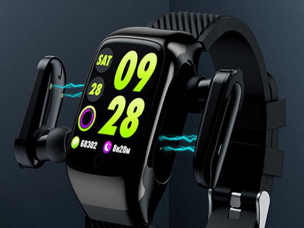 MacTrast Deals: 2-in-1 Compact Smart Fit Watch & Bluetooth Earpods