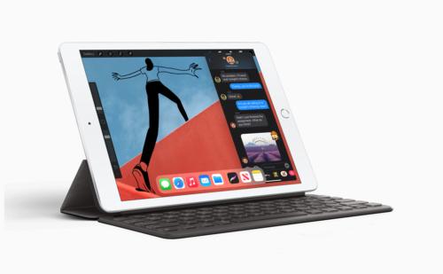 8th-generation iPad with Smart Keyboard