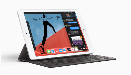 8th-generation iPad with Smart Keyboard