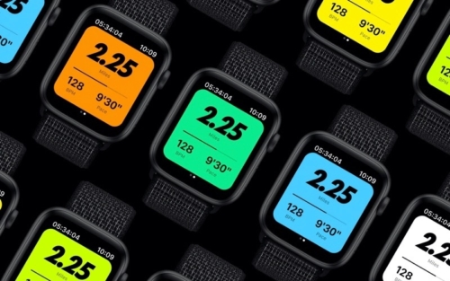 Apple Watch Nike News Mosaic-Twilight