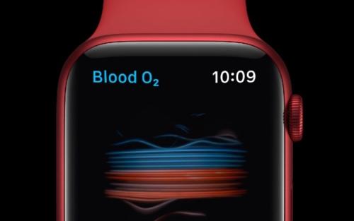 Apple Watch Series 6 - Blood Oxygen Monitoring