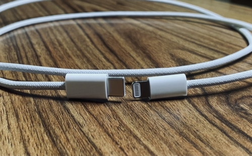 Braided Lightning to USB-C Cable