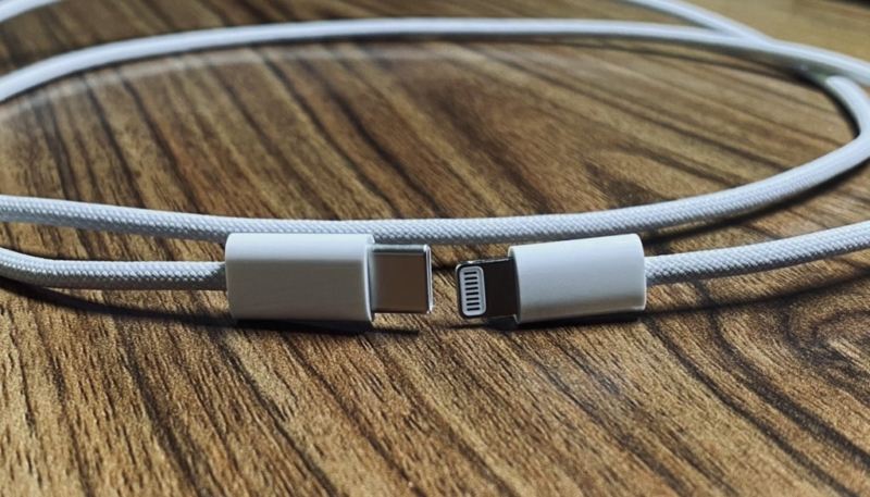 Leaked Images Allegedly Show Braided USB-C to Lightning Cable for iPhone 12