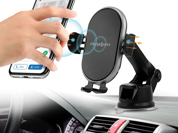 MacTrast Deals: Chargeworx Motion-Activated Wireless Charging Car Mount