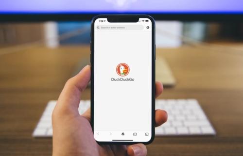 DuckDuckGo on iOS 14