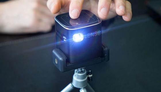 Lenso Cube 1080P Pocket Projector 1