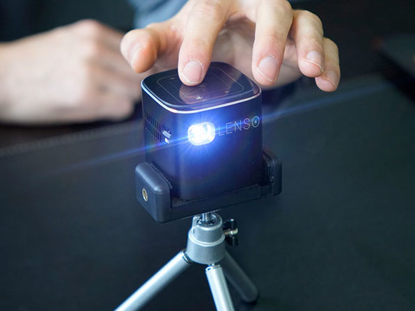 MacTrast Deals: Lenso Cube 1080P Pocket Projector