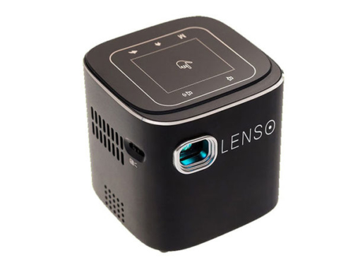 Lenso Cube 1080P Pocket Projector 1