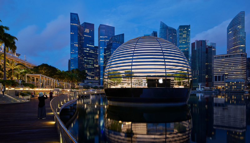 Apple's New Singapore Marina Bay Sands Store Opens on Thursday