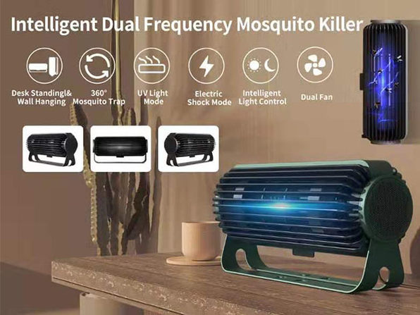 The Wizap Monster 360 3-in-1 Mosquito Trap