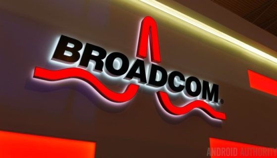 Broadcom Logo - Photo Credit: Android Authority