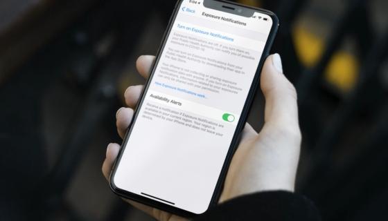 iOS 13.7 Exposure Notifications Express