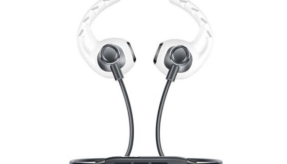 Bluetooth Wireless Headphones (Black) + Earhoox (White) Bundle