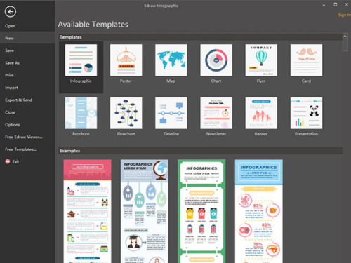 Edraw Infographic Software