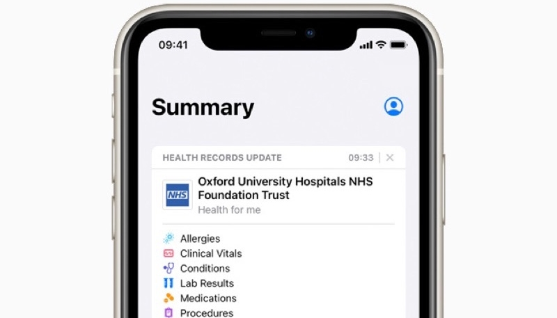 Health Records on iPhone Now Available in the UK and Canada