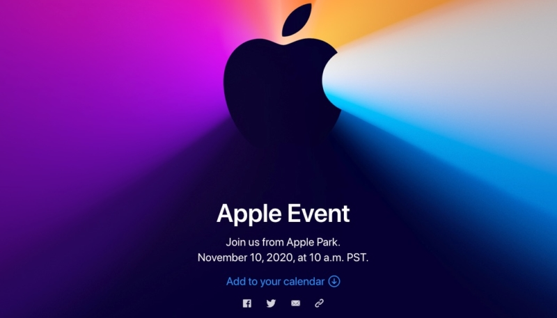 How to Watch the Apple Silicon Mac Apple Event on November 10, 2020