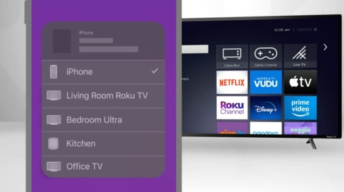 Apple AirPlay and HomeKit on 4K Roku devices