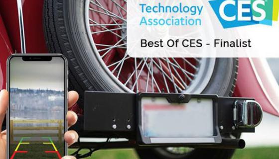 FenSens Smart Wireless Solar Powered Backup Camera