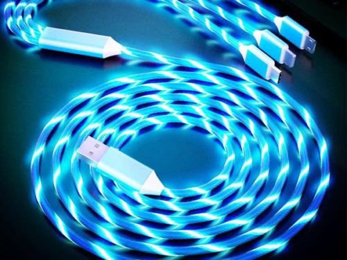 LED Light 3-in-1 Charger Cable 2