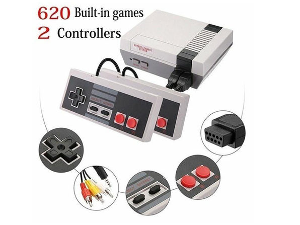 Retro TV Game Console
