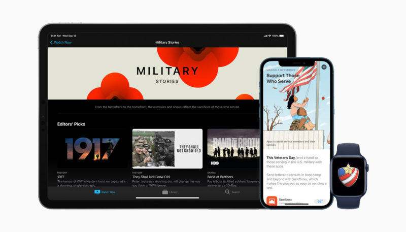 Apple Honors America's Veterans