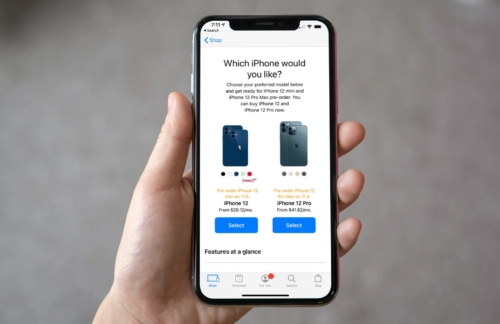 iPhone 12 mini pre-orders
