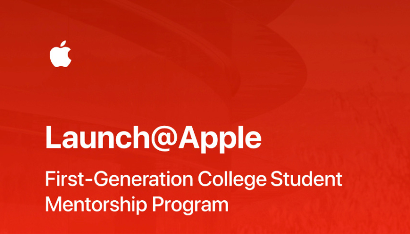 Apple to Offer 'Launch@Apple' College Mentorship Program in 2021