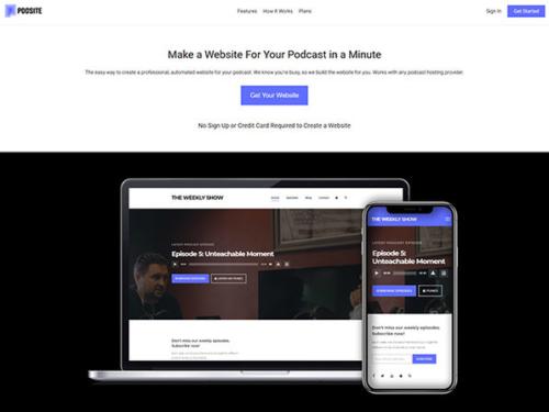 Podsite - Podcast Publishing Platform